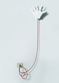 ManoMano Qui wall lamp + cable