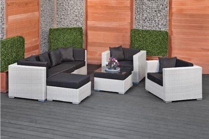 Gardexo Milan wicker loungeset