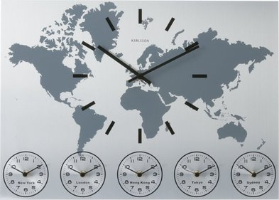 Karlsson World Time alu