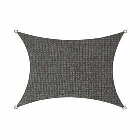 Livin'outdoor shade cloth Iseo HDPE rectangle 3x4m