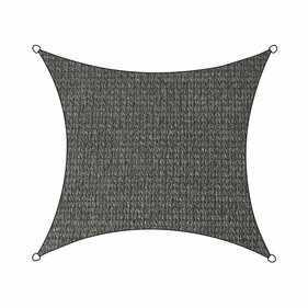 Livin'outdoor shade cloth Iseo HDPE square 5m