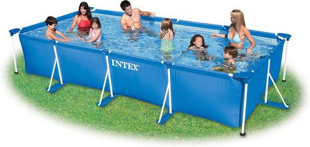 Intex Family Frame Pool 450×220 opzetzwembad