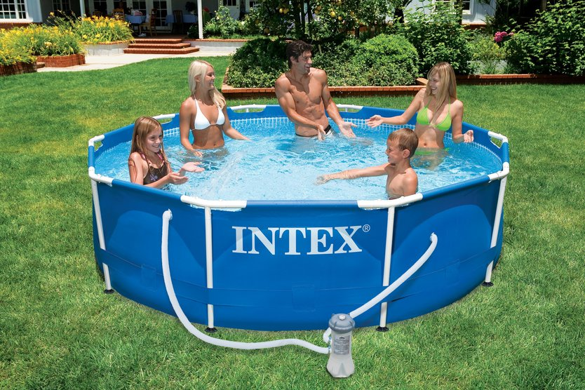 Intex Metal Frame Pool Set 305×76 opzetzwembad