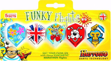 Harrows Funky flightkit