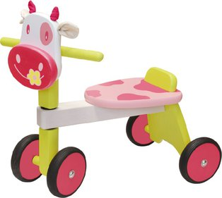 I'm Toy Toy Pink Cow balance bike
