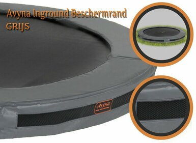 Avyna HD 380 cm InGround universele trampolinerand