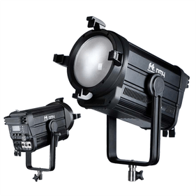 Falcon Eyes DM4 400W dimbare RGB LED fresnel spot