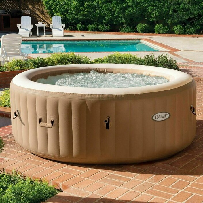 Intex PureSpa Bubbel Massage set - 220 - 240 Volt opblaasbare hottub