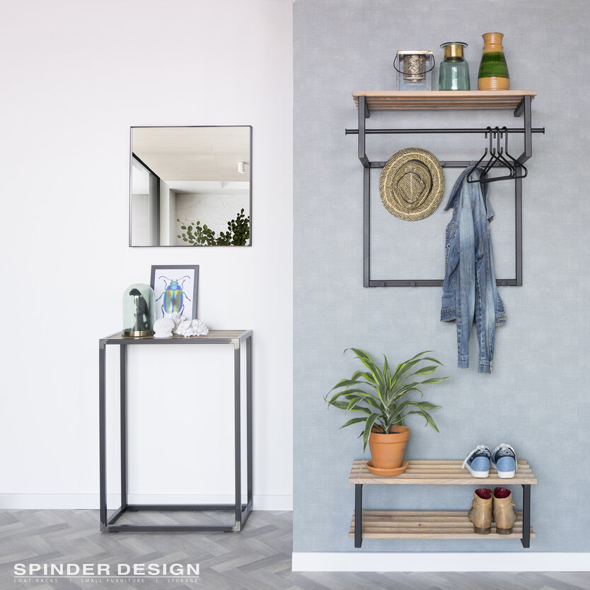 Spinder Design Rizzoli wall coat rack