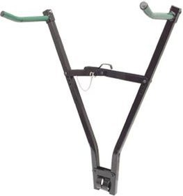 Click-On bicycle carrier black TVH