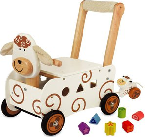 I'm Toy Sheep push cart