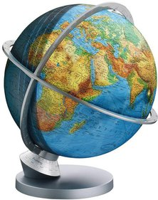 Columbus Planet Earth Duplex Globe en plastique
