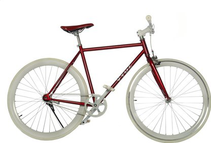 Vydz Classy Red single speed bike