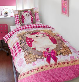 Dreamhouse Bedding For Kids Chihuahua kinderdekbedovertrek