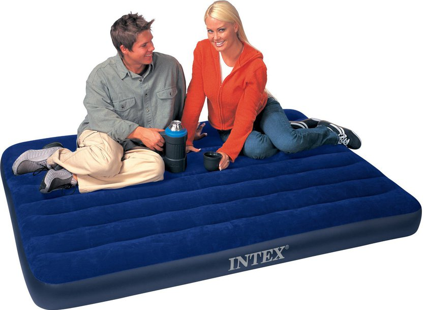 Intex Downy Airbed Full