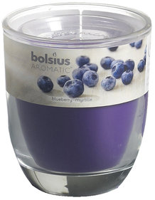 Bolsius Aromatic geurkaars blueberry 80 x 70 mm