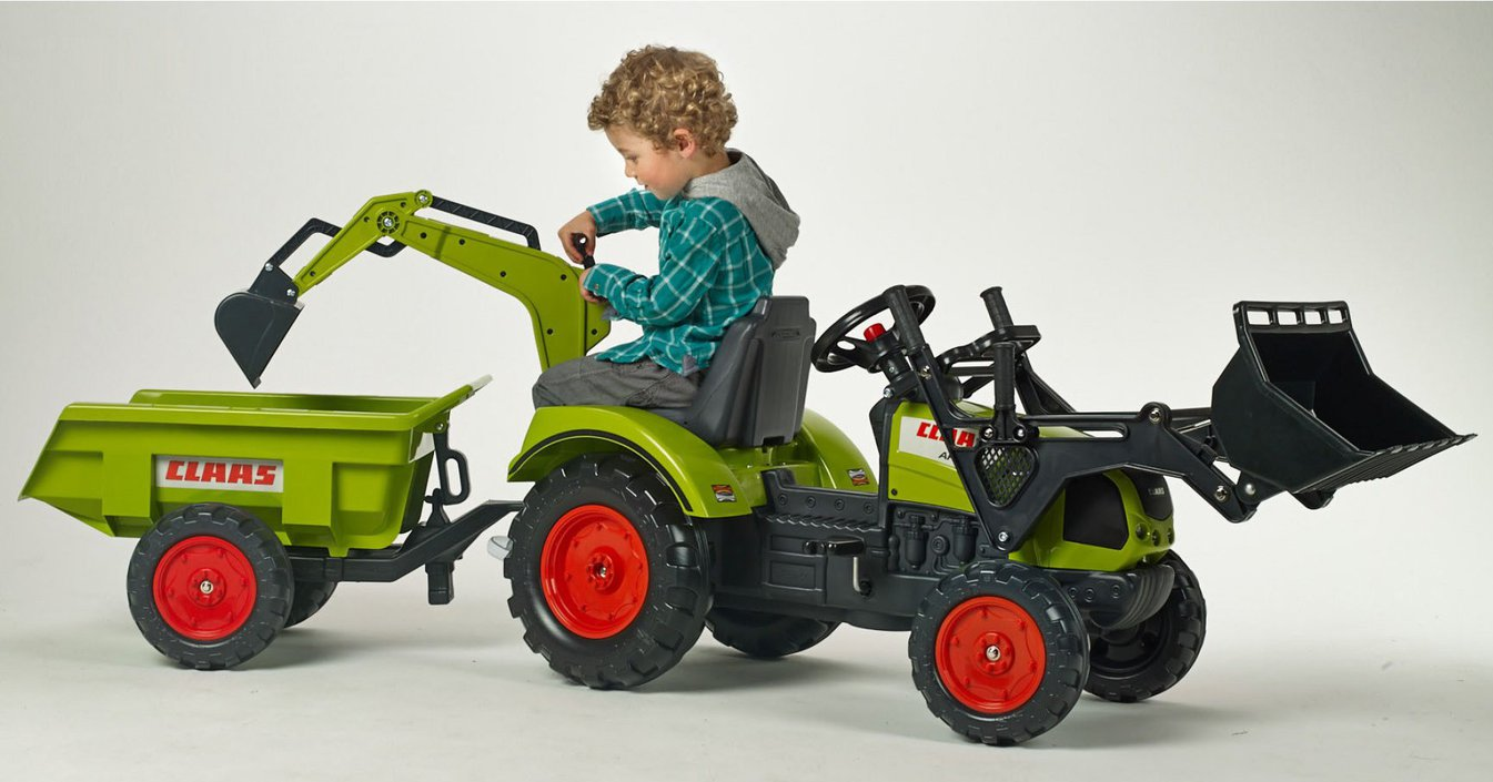 Falk Claas Arion 430 Tractor Deluxe Set