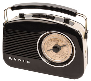 König Retro-radio met Bluetooth