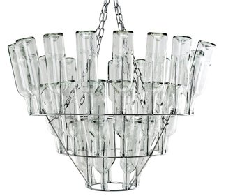 Leitmotiv Wine Bottle Chandelier