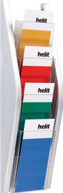 Helit Wall display 4x suporte para pasta A4 1/3