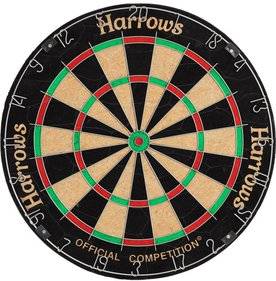 Harrows Official Competition Bristle dartbord