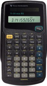 Texas Instruments TI-30 ECO RS calculator