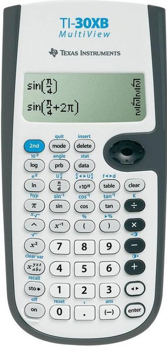 how to use ti-30xb calculator