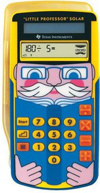 Texas Instruments Little Professor Solar rekentrainer
