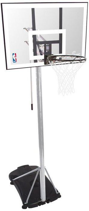"Spalding NBA Silver 44"" basketbalpaal"