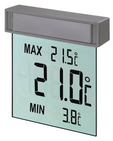 TFA Dostmann digitales Fensterthermometer Vision 30.1025