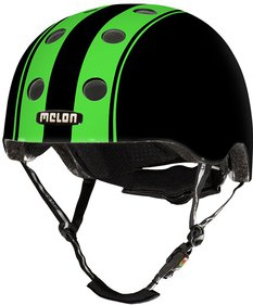 Melon Double Green Black Fahrradhelm