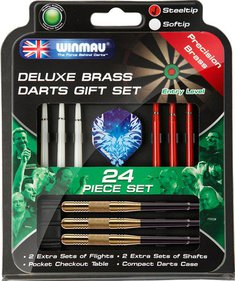 Winmau 24-delige cadeauset messing