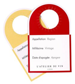 L'Atelier du Vin Wine Labels
