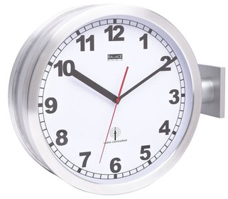Balance Time Double DCF station clock