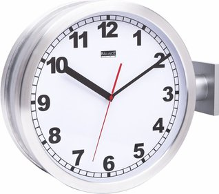 Balance Time Double Numerus station clock