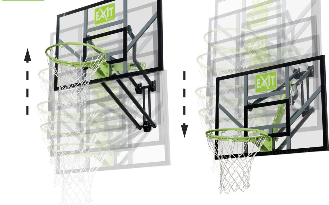EXIT Galaxy Wall-mount System basketbalbord