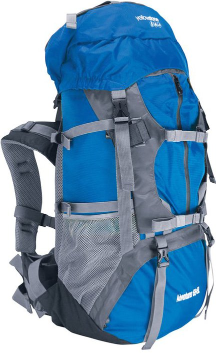 Yellowstone Adventurer 65+5L backpack