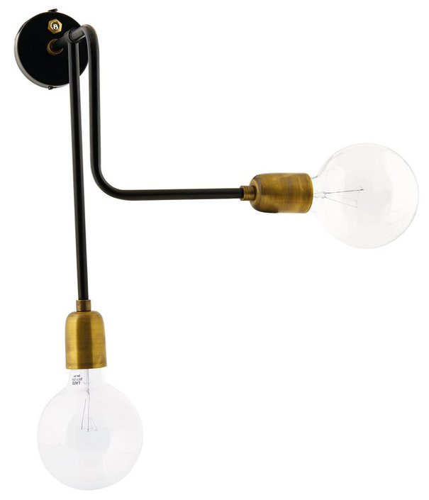 House Doctor Molecular Double wandlamp