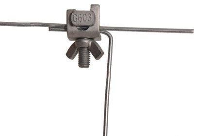 Gallagher Curved Wire Clamp