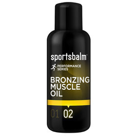 Sportbalm Bronzing Muscle Oil 200ml