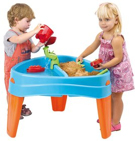 Feber Island sand and water table