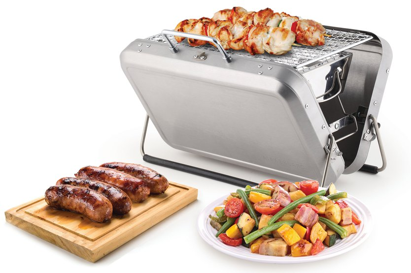 Kikkerland Briefcase Barbecue