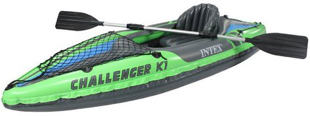 Intex Challenger K1 opblaaskano-set