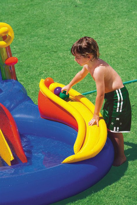 Intex Rainbow Ring playcentre