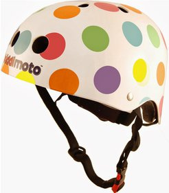Kiddimoto Pastel Dotty Casque enfant