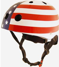 Kiddimoto Stars & Stripes kinderhelm