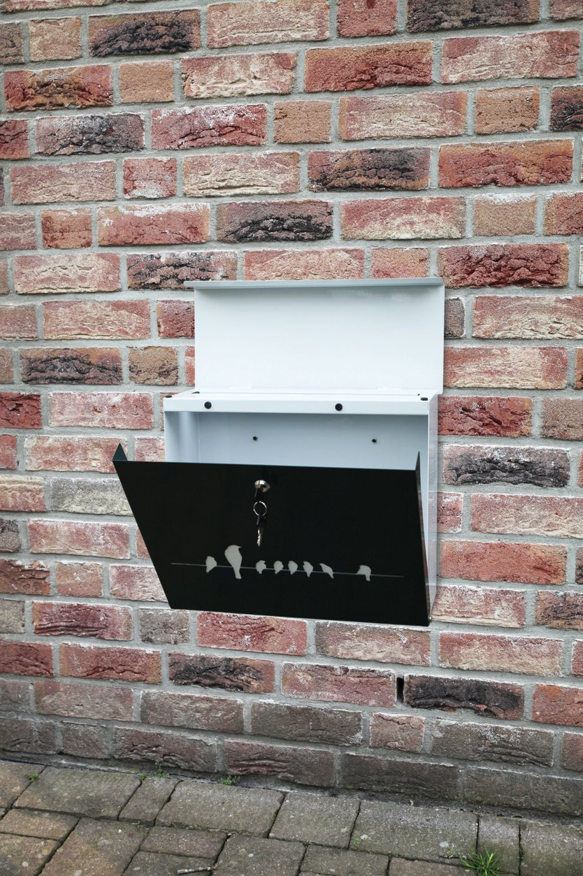 Esschert Design Birds on a wire letterbox