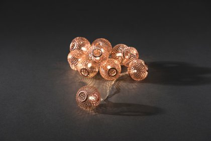 Konstsmide LED Dekorativa Cord Copper Bolletjes