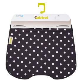 Qibbel windscreen flap Polka Dot black