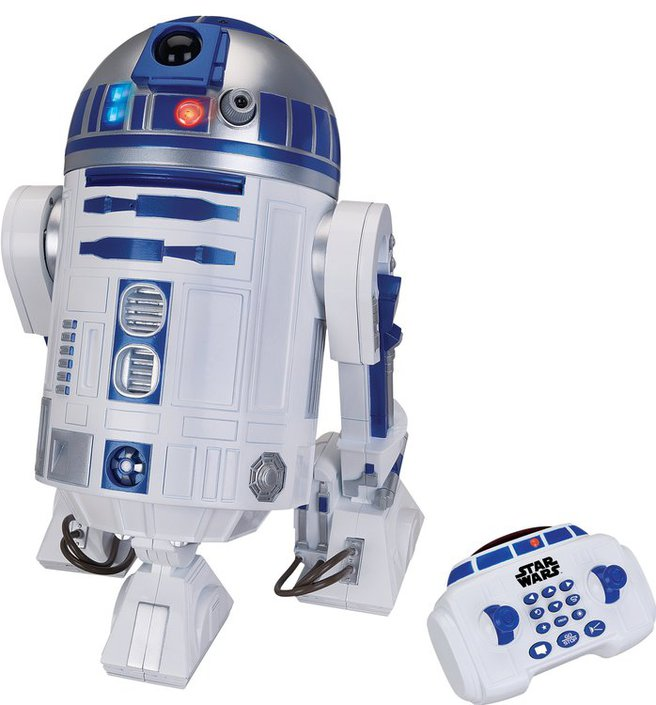 Want to buy star wars r2 d2 robot frank - Robot blanc star wars ...